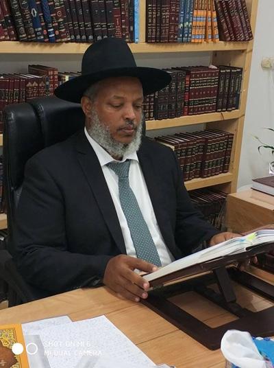 """הרב ראובן וובשת שליט""""א הוכתר כרב ראשי ליהדות אתיופיה"""