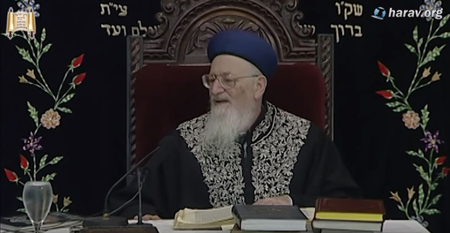 פרשת ויחי  הלכות שבת   הרב מרדכי אליהו