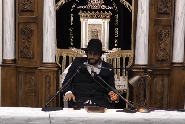 השיעור בבית ישראל – הינוקא הרב שלמה יהודה