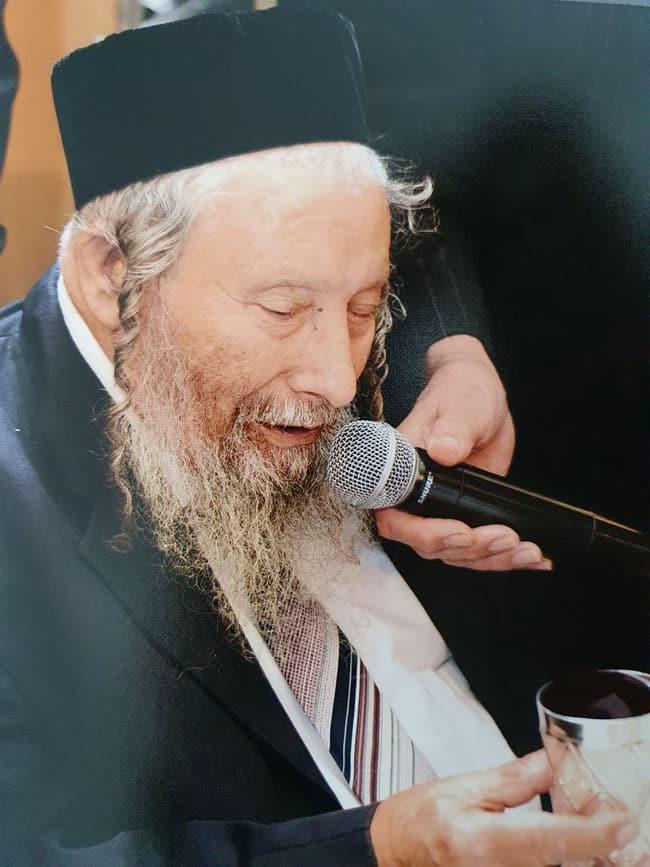"""* הרב משה שלמה זצ""""ל"""