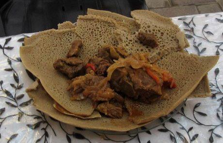 """מהי ברכת פת הנקראת """"אנג'רה"""" (כלשון יהודי אתיופיה) או לְחוּח (כלשון יהודי תימן) העשויה מחמשת מיני דגן? ומה הדין אם קבע עליה סעודה?"""