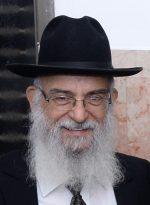 """הרב מרדכי יצהרי שליט""""א"""