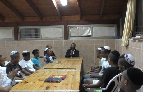 """יהדות אתיופיה מציגה שירי שבת עם הרב משה ברוך שליט""""א"""