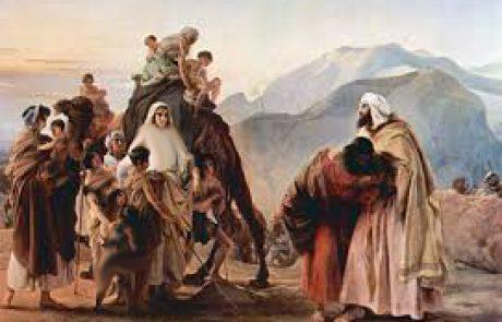 """פרשת וישלח יעקב – """"הַצִּילֵנִי נָא מִיַּד אָחִי מִיַּד עֵשָׂו, כִּי יָרֵא אָנֹכִי אֹתוֹ פֶּן יָבוֹא וְהִכַּנִי אֵם עַל בָּנִים""""."""