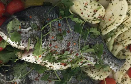 דג דניס פשוט להכנה וטעים להפליא