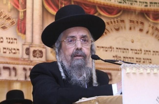 "הרב הגאון שלמה קורח שליט""א : צילום - יעקב כהן"