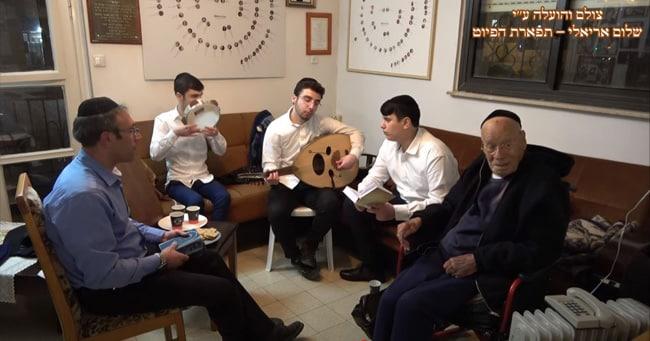 """ביקור אצל נשיא בבהכנ""""ס הגדול עדס שירים לפסח – ניסן תשפ""""א"""