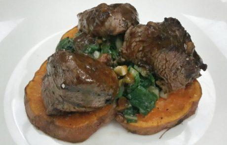 בשר בקר ברוטב טופי – כשר לפסח