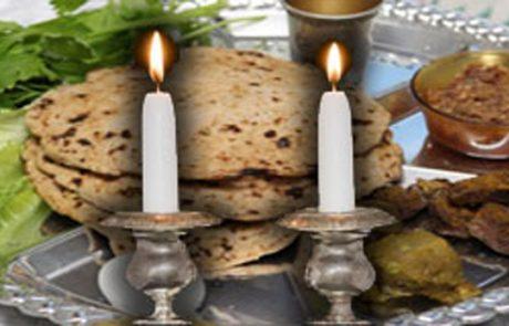 """הלכות לפסח שחל בשבת – הרב שלום נגר שליט""""א"""