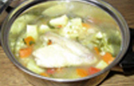 מרק ירקות בשרי