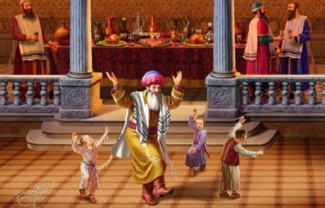 """סעודת אחשוורוש – ומעלת השירה – מאת הרב מיכאל זכריהו שליט""""א"""