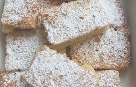 עוגת תפוחי עץ חלבית