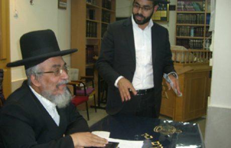 מעמד חיזוק ללימוד התורה לבני המושב אשתאול ופעילי לב לאחים